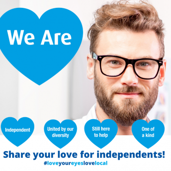 #3 Share your love for independents FAcebook