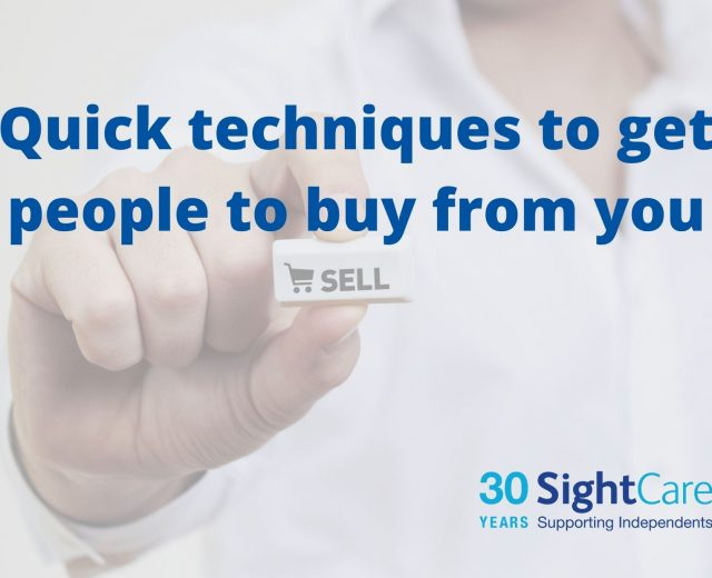 quick techniques to get people to buy from you