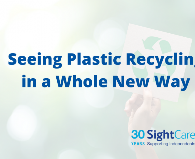 Seeing plastic recycling in a whole new way